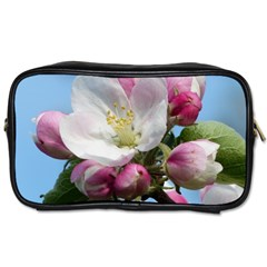 Apple Blossom  Travel Toiletry Bag (one Side) by ADIStyle