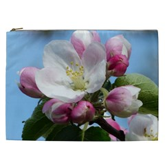 Apple Blossom  Cosmetic Bag (xxl) by ADIStyle