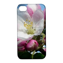 Apple Blossom  Apple Iphone 4/4s Hardshell Case With Stand by ADIStyle