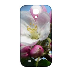 Apple Blossom  Samsung Galaxy S4 Hardshell Back Case by ADIStyle