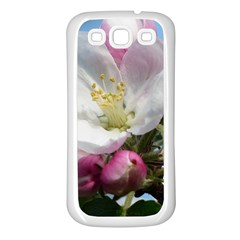 Apple Blossom  Samsung Galaxy S3 Back Case (white)
