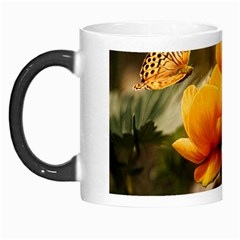 Flowers Butterfly Morph Mug by ADIStyle
