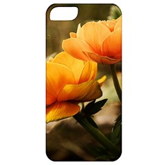 Flowers Butterfly Apple Iphone 5 Classic Hardshell Case by ADIStyle