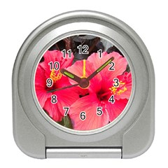 Red Hibiscus Desk Alarm Clock by ADIStyle