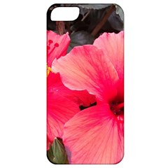 Red Hibiscus Apple Iphone 5 Classic Hardshell Case by ADIStyle