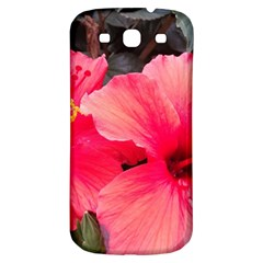 Red Hibiscus Samsung Galaxy S3 S Iii Classic Hardshell Back Case by ADIStyle