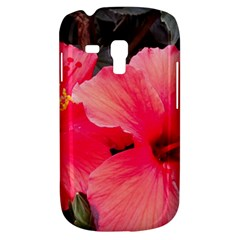 Red Hibiscus Samsung Galaxy S3 Mini I8190 Hardshell Case by ADIStyle