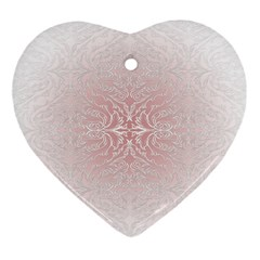 Elegant Damask Heart Ornament by ADIStyle