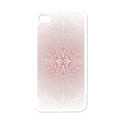 Elegant Damask Apple Iphone 4 Case (white) by ADIStyle