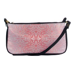 Pink Elegant Damask Evening Bag