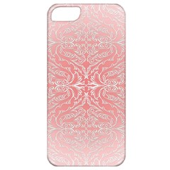Pink Elegant Damask Apple Iphone 5 Classic Hardshell Case by ADIStyle
