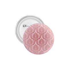 Luxury Pink Damask 1 75  Button by ADIStyle