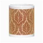 Luxury Pink Damask Glow in the Dark Mug Center