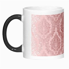 Luxury Pink Damask Morph Mug