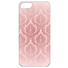 Luxury Pink Damask Apple Iphone 5 Classic Hardshell Case by ADIStyle