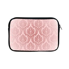 Luxury Pink Damask Apple Ipad Mini Zipper Case by ADIStyle