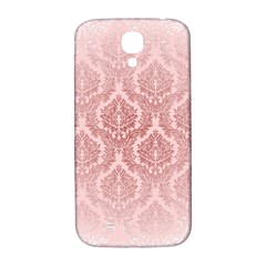 Luxury Pink Damask Samsung Galaxy S4 Hardshell Back Case by ADIStyle