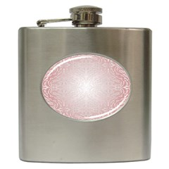 Pink Damask Hip Flask by ADIStyle