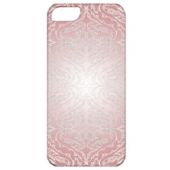 Pink Damask Apple Iphone 5 Classic Hardshell Case by ADIStyle