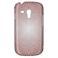 Pink Damask Samsung Galaxy S3 Mini I8190 Hardshell Case by ADIStyle