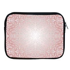 Pink Damask Apple Ipad 2/3/4 Zipper Case by ADIStyle