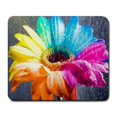 Colorful Flower Large Mouse Pad (rectangle)