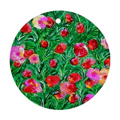 Flower Dreams Round Ornament