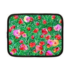 Flower Dreams Netbook Case (small) by dawnsebaughinc