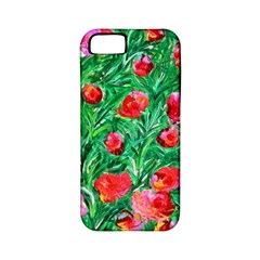 Flower Dreams Apple Iphone 5 Classic Hardshell Case (pc+silicone) by dawnsebaughinc