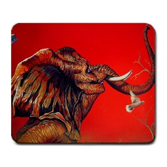 Mary Large Mouse Pad (rectangle)
