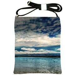 Beautiful Overcast Skies Shoulder Sling Bag by designsbyvee