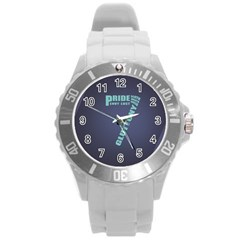 Seven Round Plastic Sport Watch Large