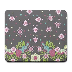 Extinct Birds Large Mouse Pad (rectangle)