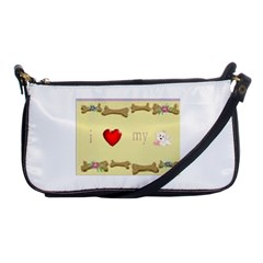 I Love My Dog! Ii Evening Bag by mysticalimages