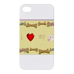 I Love My Dog! Ii Apple Iphone 4/4s Hardshell Case by mysticalimages