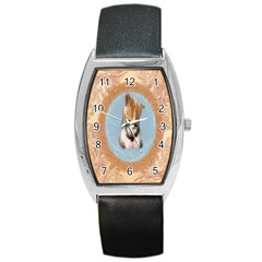 Arn t I Adorable? Tonneau Leather Watch