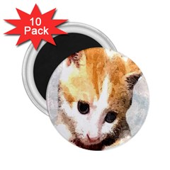 Sweet Face :) 2 25  Button Magnet (10 Pack) by mysticalimages