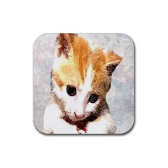 Sweet Face :) Drink Coaster (square)
