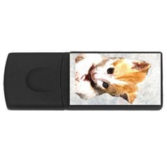 Sweet Face :) 4gb Usb Flash Drive (rectangle)
