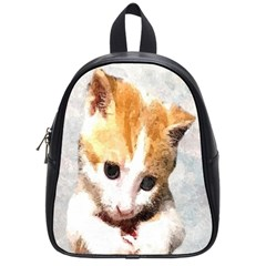 Sweet Face :) School Bag (small) by mysticalimages