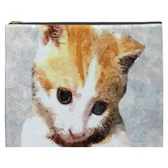 Sweet Face :) Cosmetic Bag (xxxl) by mysticalimages