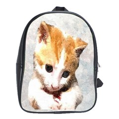 Sweet Face :) School Bag (xl) by mysticalimages