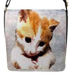 Sweet Face :) Flap Closure Messenger Bag (small) by mysticalimages