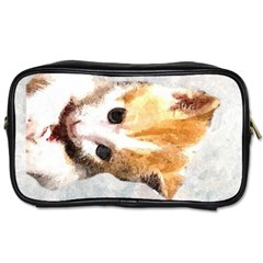 Sweet Face ;) Travel Toiletry Bag (one Side) by mysticalimages
