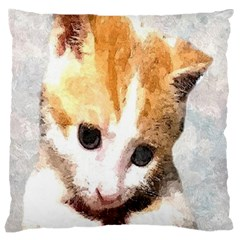 Sweet Face ;) Large Cushion Case (one Side) by mysticalimages