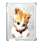 Sweet Face ;) Apple iPad 3/4 Case (White) Front