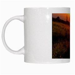 Evening Rest White Coffee Mug by mysticalimages