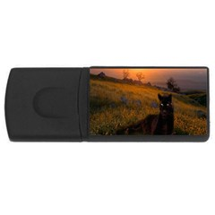 Evening Rest 4gb Usb Flash Drive (rectangle)