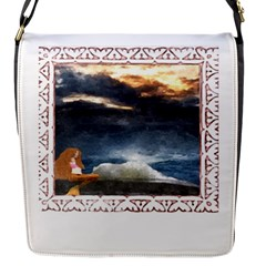 Stormy Twilight [framed] Flap Closure Messenger Bag (small) by mysticalimages