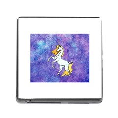 Unicorn Ii Memory Card Reader With Storage (square) by mysticalimages